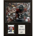 C & I Collectibles NCAA Football Player Plaque; Texas Tech - Wes Welker