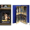 C & I Collectibles NBA Licensed 2010-11 Donruss Team Set Plus Storage Album; San Antonio Spurs