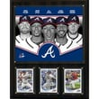 C & I Collectibles MLB 2013 Team Plaque; Atlanta Braves