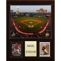 C & I Collectibles MLB 12'' x 15'' Stadium Plaque; Minute Maid Park