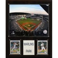 C & I Collectibles MLB Marlins Park Stadium Plaque