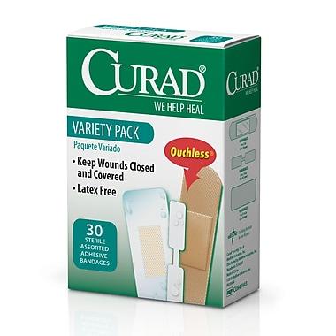Medline® Curad® Variety Pack Adhesive Bandage, 24/Pack