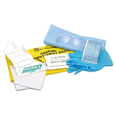 Medline® Delux Fluid Clean-Up Spill Kit, 6/Pack