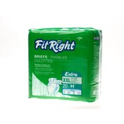 "Medline® FitRight® Extra Clothlike Briefs, 2XL (60"" - 69""), 20/Pack"