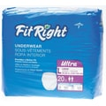 Medline® FitRight® Ultra Protective Underwear, Large (40in. - 56in.), 80/Pack