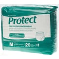 Medline® Protect Extra Protective Underwear, Medium (28in. - 40in.), 20/Bag