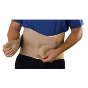Medline® Back Support With Hook and Loop Closures, Beige, Universal