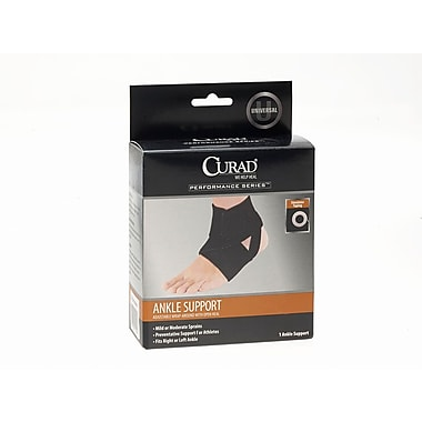 Medline® Curad® Adjustable Ankle Wrap For Athletes