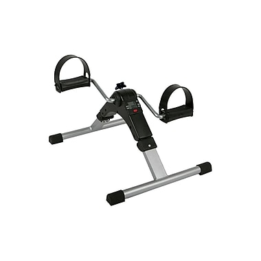 Medline® Chrome/Steel Lightweight Digital Pedal Exerciser, 2/Pack