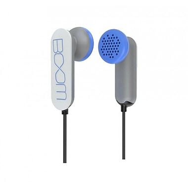 BOOM – Écouteurs-boutons Spooners, blanc