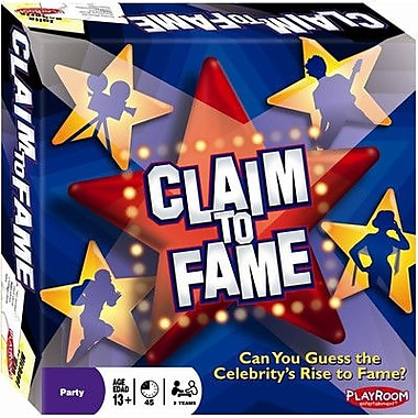 Playroom Entertainment Claim to Fame Board Game