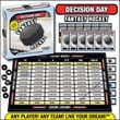 GDC-GameDevCo.Ltd Decision Day Fantasy Hockey Trading Card Board Game