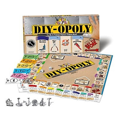 Late for the Sky D.I.Y.-opoly Board Game