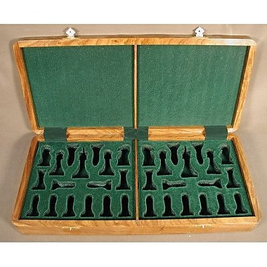 Chopra Teak Presentation Box Chessmen