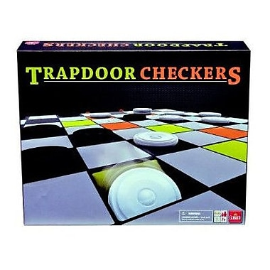 Goliath Games Trapdoor Checkers Board Game