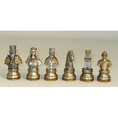 Ital Fama Pewter Camelot Men Chessmen
