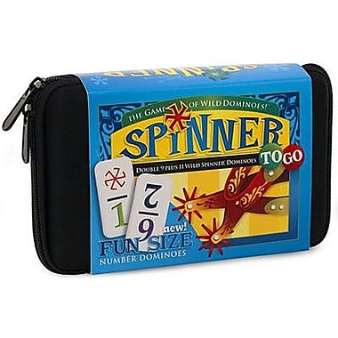 Puremco Dominoes To Go Spinner Game