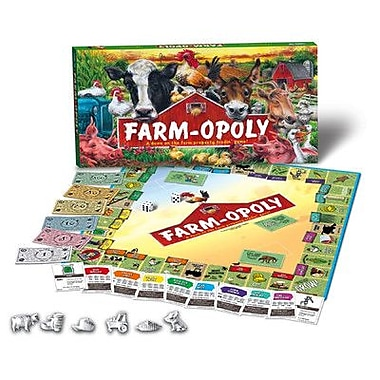 Late for the Sky Farm-opoly Board Game