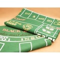 Play All Day Games Craps and Blackjack Layout Game Mat