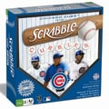 Fundex Games MLB Scrabble Board Game; Chicago Cubs