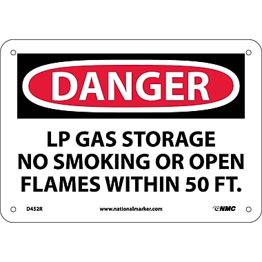 Danger, Lp Gas Storage No Smoking Or Open..., 7