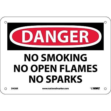 Danger, No Smoking No Open Flames No Sparks, 7