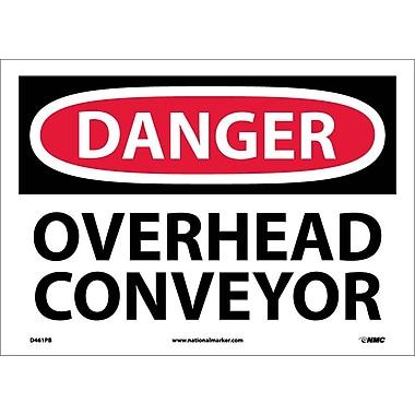 Danger, Overhead Conveyor, 10