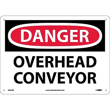 Danger, Overhead Conveyor, 10
