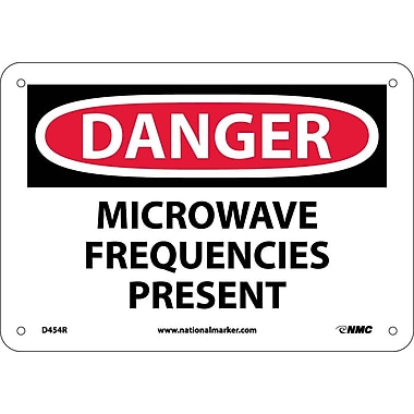 Danger, Microwave Frequencies Present, 7