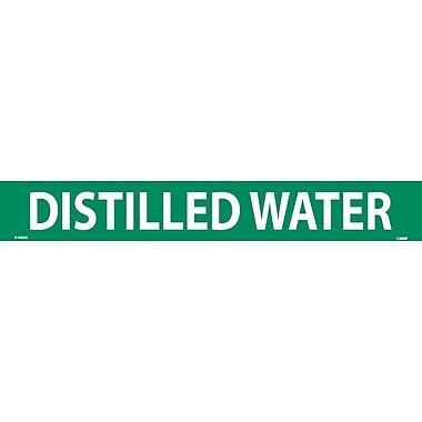 Pipemarker, Adhesive Vinyl, 25/Pack, Distilled Water, 2