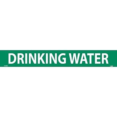 Pipemarker, Adhesive Vinyl, 25/Pack, Drinking Water, 2