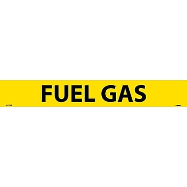 Pipemarker, Adhesive Vinyl, 25/Pack, Fuel Gas, 2