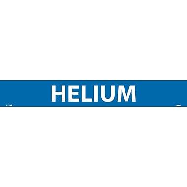 Pipemarker, Adhesive Vinyl, Helium, 2X14 1 1/4