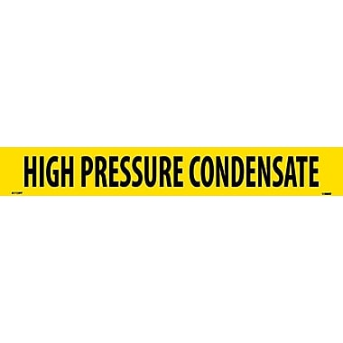 Pipemarker, Adhesive Vinyl, High Pressure Condensate, 2X14 1 1/4