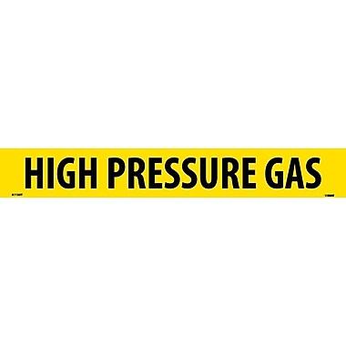 Pipemarker, Adhesive Vinyl, 25/Pack, High Pressure Gas, 2