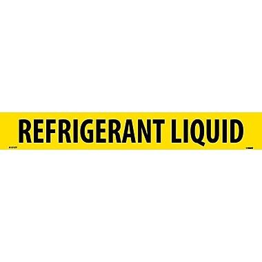 Pipemarker, Adhesive Vinyl, 25/Pack, Refrigerant Liquid, 2