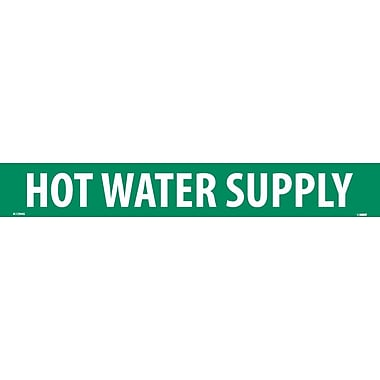Pipemarker, Hot Water Supply, 2