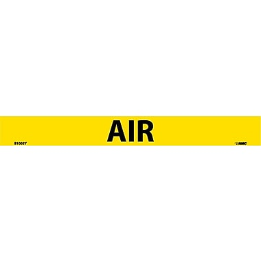Pipemarker, Adhesive Vinyl, 25/Pack, Air, 1