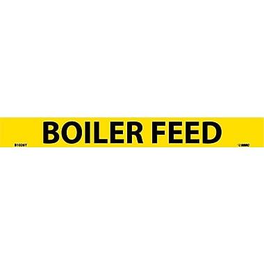 Pipemarker, Adhesive Vinyl, 25/Pack, Boiler Feed, 1