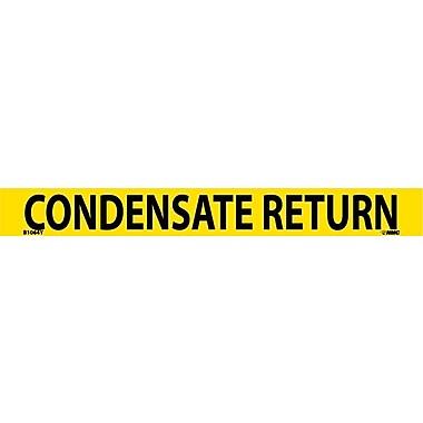 Pipemarker, Adhesive Vinyl, 25/Pack, Condensate Return, 1