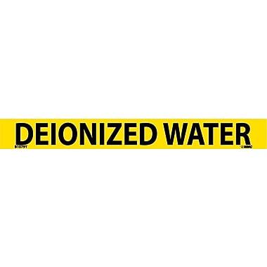 Pipemarker, Adhesive Vinyl, Deionized Water, 1X9 3/4