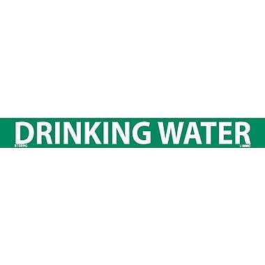 Pipemarker, Adhesive Vinyl, 25/Pack, Drinking Water, 1