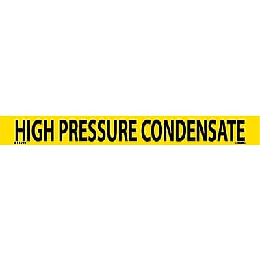 Pipemarker, Adhesive Vinyl, High Pressure Condensate, 1X9 3/4