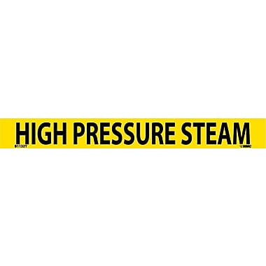 Pipemarker, Adhesive Vinyl, 25/Pack, High Pressure Steam, 1