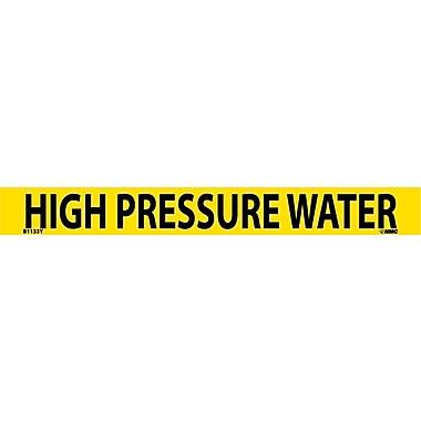 Pipemarker, Adhesive Vinyl, 25/Pack, High Pressure Water, 1