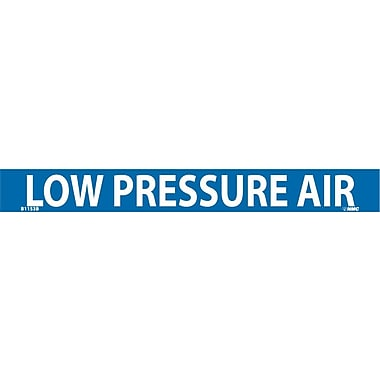 Pipemarker, Adhesive Vinyl, Low Pressure Air, 1X9 3/4