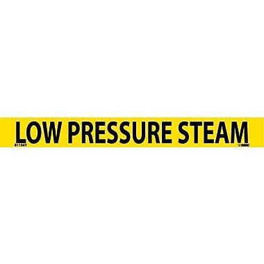 Pipemarker, Adhesive Vinyl, 25/Pack, Low Pressure Steam, 1