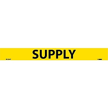 Pipemarker, Adhesive Vinyl, 25/Pack Supply, 1