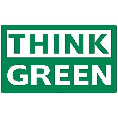 Think Green, 3' x 5', Polyethylene