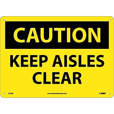 Caution, Keep Aisles Clear, 10
